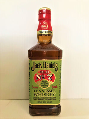 Jack Daniel's No7 - Green Label Tennessee Whiskey Sour Mash 700ml