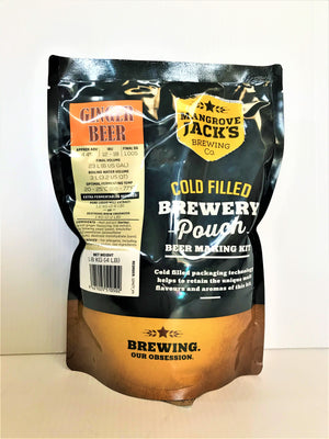 Mangrove Jack's  - Traditional Series Ginger Beer Pouch 1.8kg