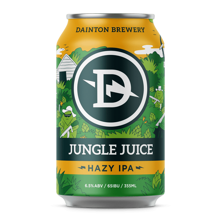Dainton - Jungle Juice Hazy IPA 355ml Can - Single