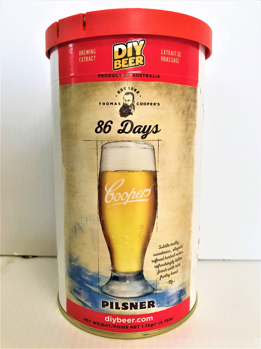 Thomas Coopers - 86 Days Pilsner (1.7KG)