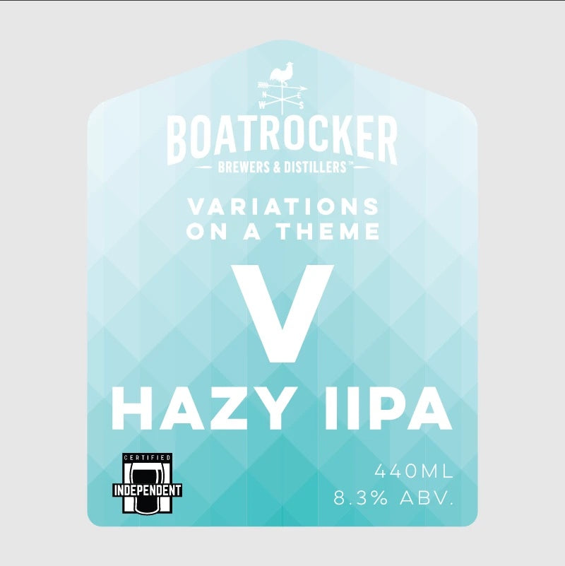 Boatrocker - Variations On A Theme V Hazy IIPA - 440ml Can