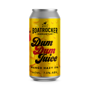 Boatrocker - Dum Dum Juice Mango Hazy IPA - 440ml Can