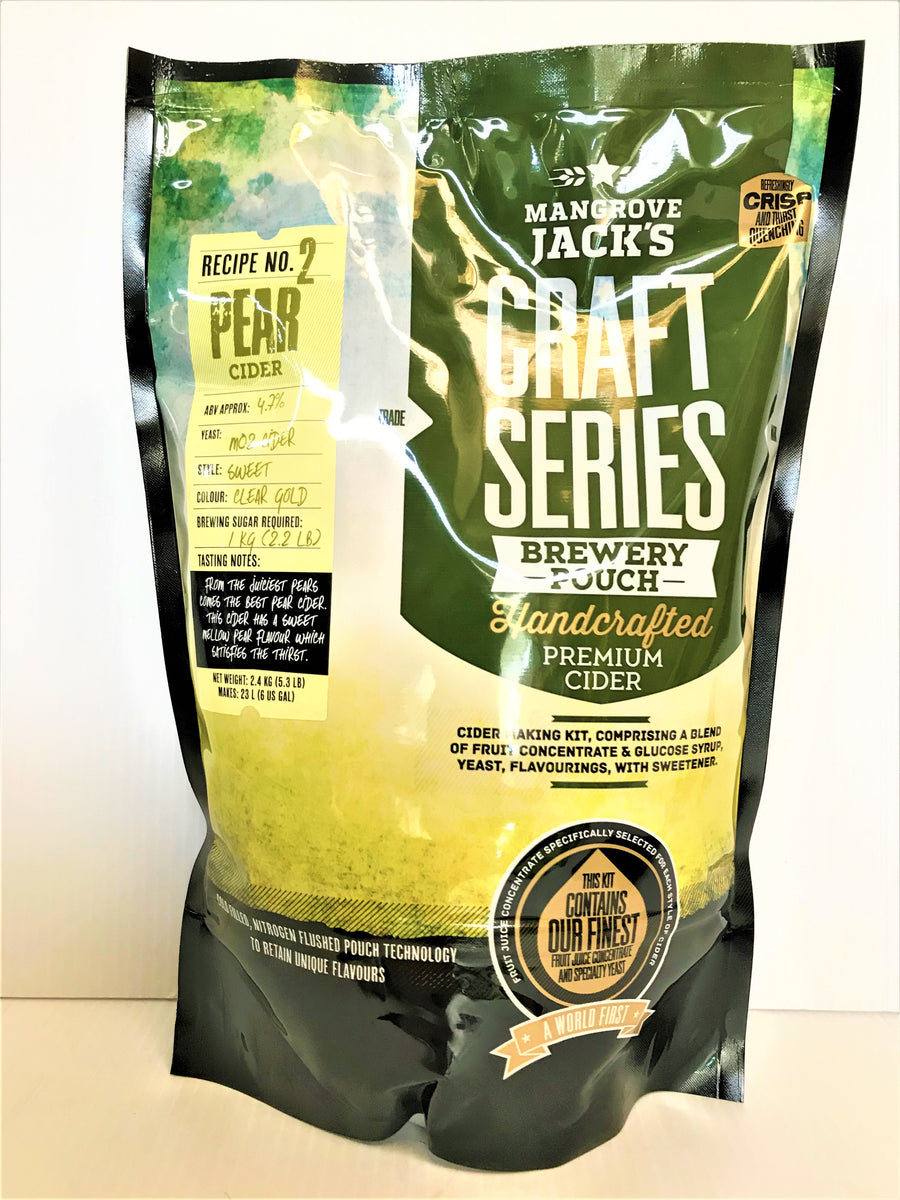 Mangrove Jack's - Craft Series Pear Cider Pouch - 2.4kg