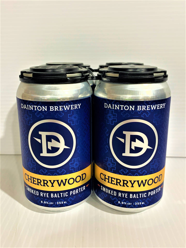 Dainton - Cherrywood Smoked Rye Baltic Porter 355ml Can - 4 Pack