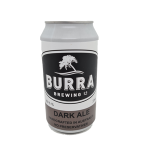 Burra - Dark Ale 375ml Can - 6 Pack