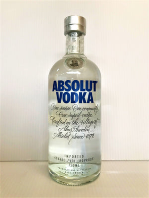 Absolut - Vodka (Imported) 750mL