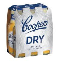 Coopers - Dry 355ml Bottle - 6 Pack