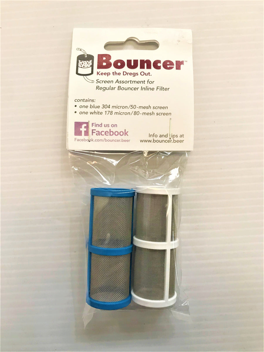 50 & 80 Mesh Filter Screen Two Pack - Bouncer Classic
