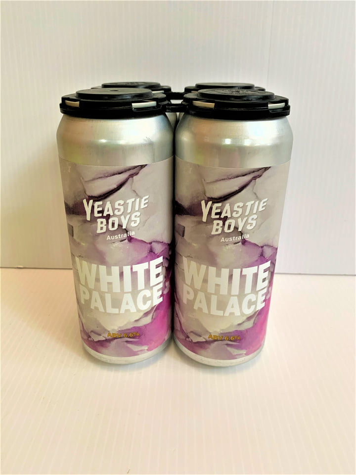Yeastie Boys (Australia) - White Palace 500ml Can - 4 Pack