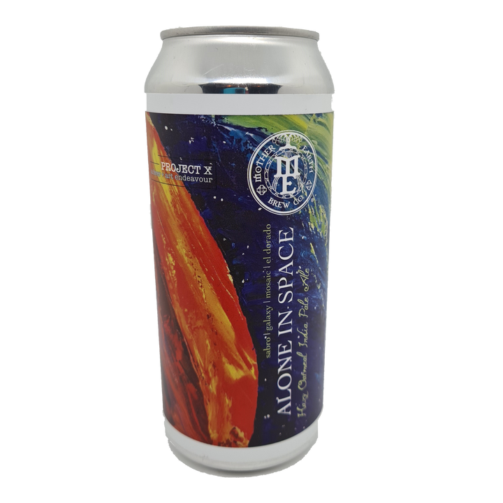 Mother Earth - Project X - Alone In Space Limited Rel 473ml Can - Single