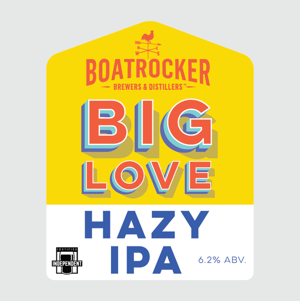 Boatrocker - Big Love Hazy IPA - 375ml Can