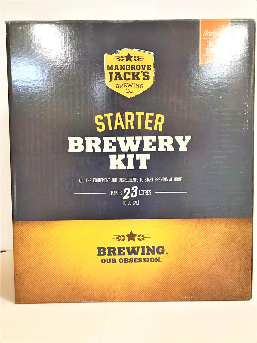Mangrove Jack's - Starter Brewery Kit with Bottles