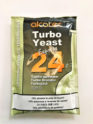 Alcotec - 24 Hour Turbo Yeast