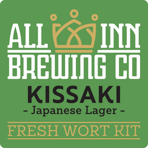 All Inn Brewing - Kissaki Japanese Lager - Fresh Wort Kit