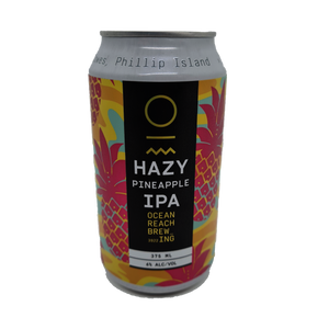 Ocean Reach Pineapple Hazy IPA 375ml Can