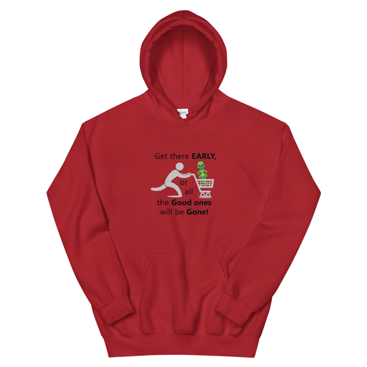 "Alien Wear Hooded Sweatshirt - ""Shop on Alien Black Friday"""