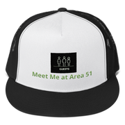 "Alien Wear Cap  -  ""Area 51 Special Guest"""