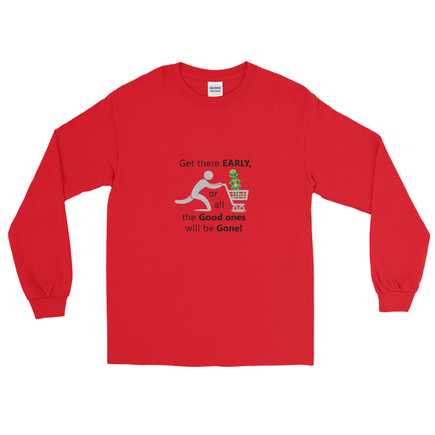 "Alien Wear Long Sleeve T-Shirt - ""Shop on Alien Black Friday"""