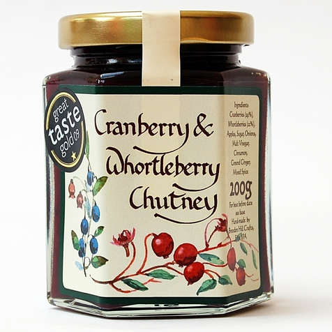 Cranberry & Whortleberry Chutney