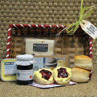 Cream Tea in a Gift Basket