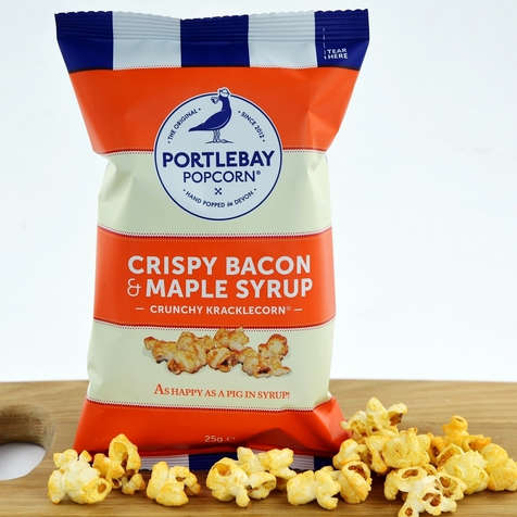 Portlebay Popcorn Bacon and Maple
