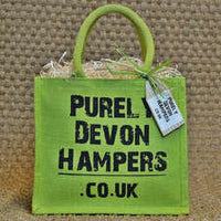 Medium Green Jute Bag (max 8 items)