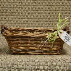 Natural Wicker Gift Basket (max 12 items)