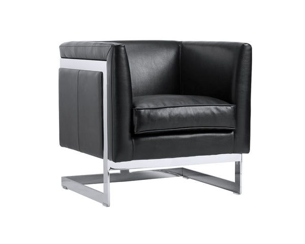 griffin-armchair-stainless-steel-cantina-black
