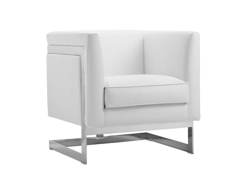 griffin-armchair-stainless-steel-cantina-white