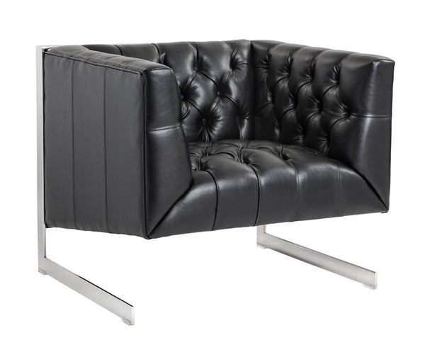 gunner-armchair-stainless-steel-cantina-black