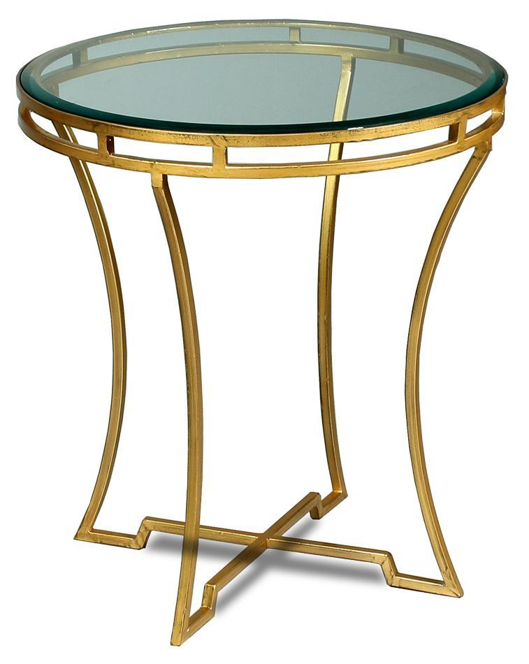 cane-round-side-table