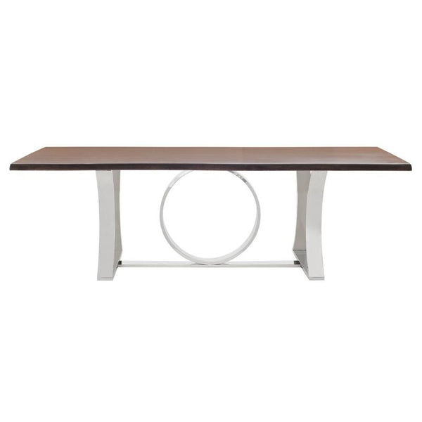 millicent-dining-table-seared-oak-top-stainless-base-96