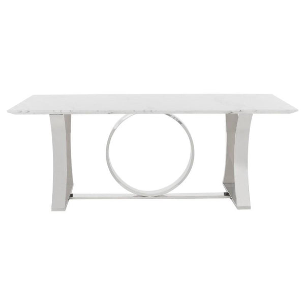 millicent-dining-table-marble-top-white-stainless