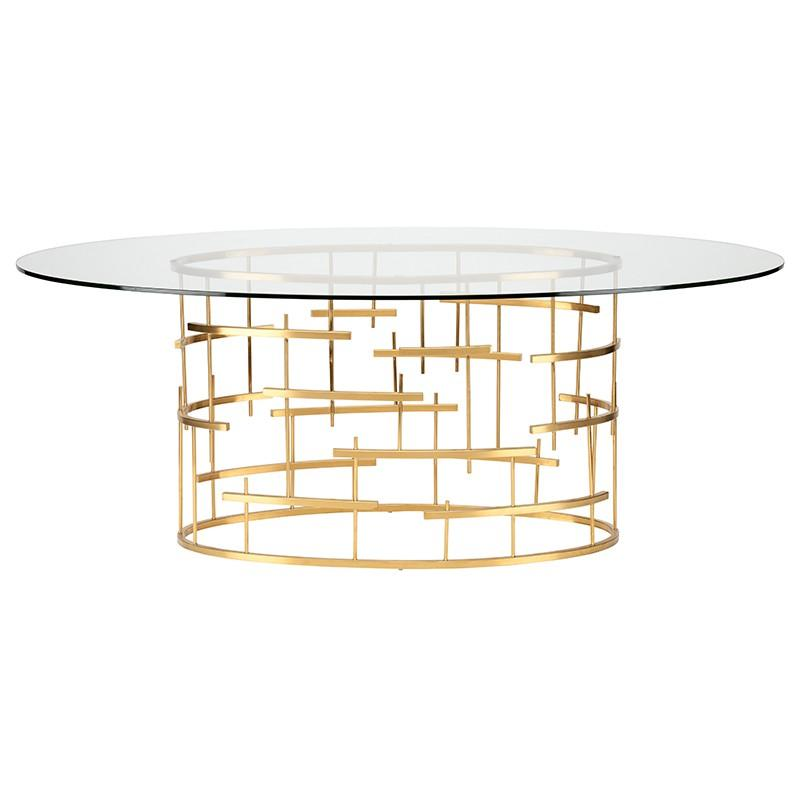 carolus-oval-dining-table-clear-tempered-glass-top-brushed-gold