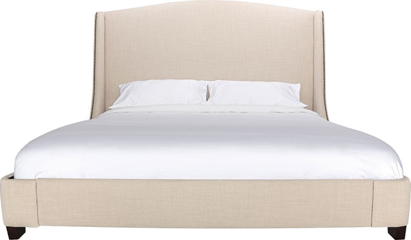 Emmett Natural Linen King Bed