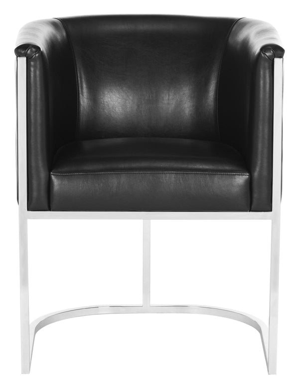 Jesse  Leather Tub Chair (2x)