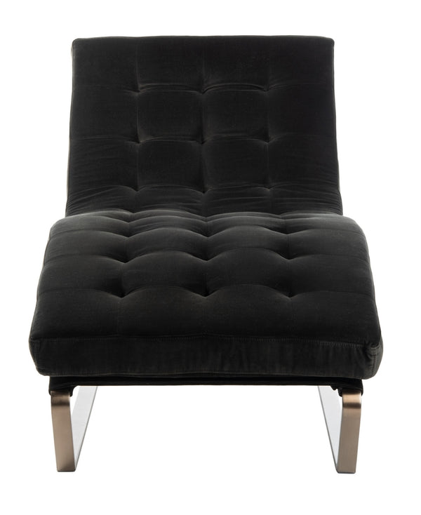 Otto Tufted Velvet Chaise
