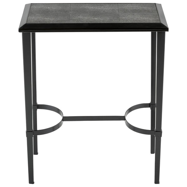 Mitchell Faux Shagreen End Table
