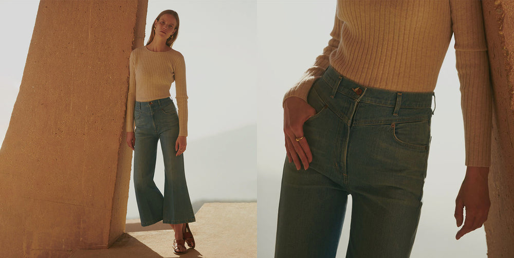 70's inspired denim