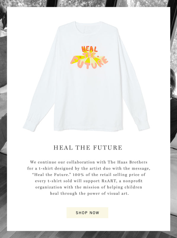 "Citizens of Humanity x The Haas Brothers ""Heal The Future"" Tee"