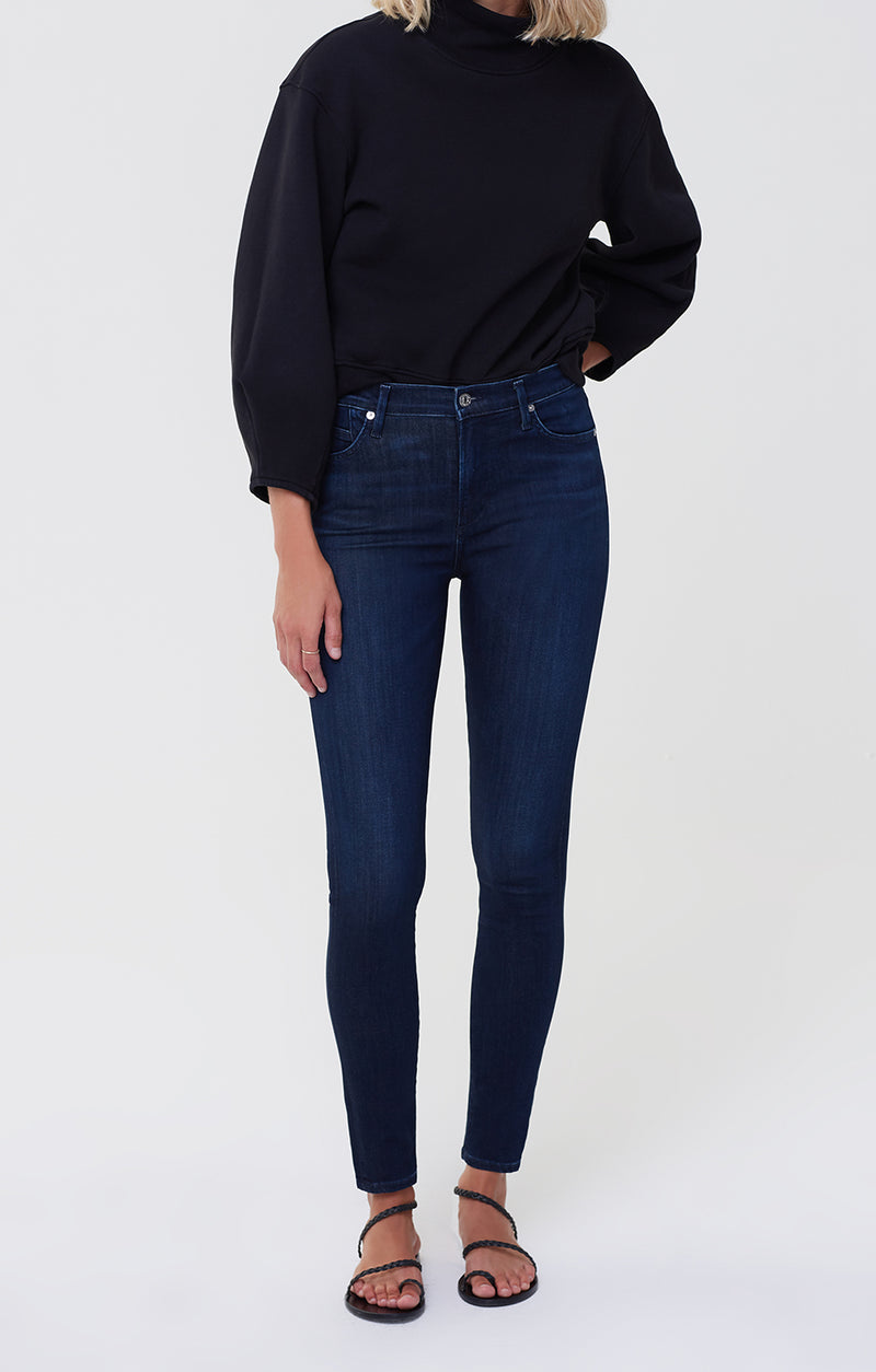 Rocket Mid Rise Skinny Fit Timeless front
