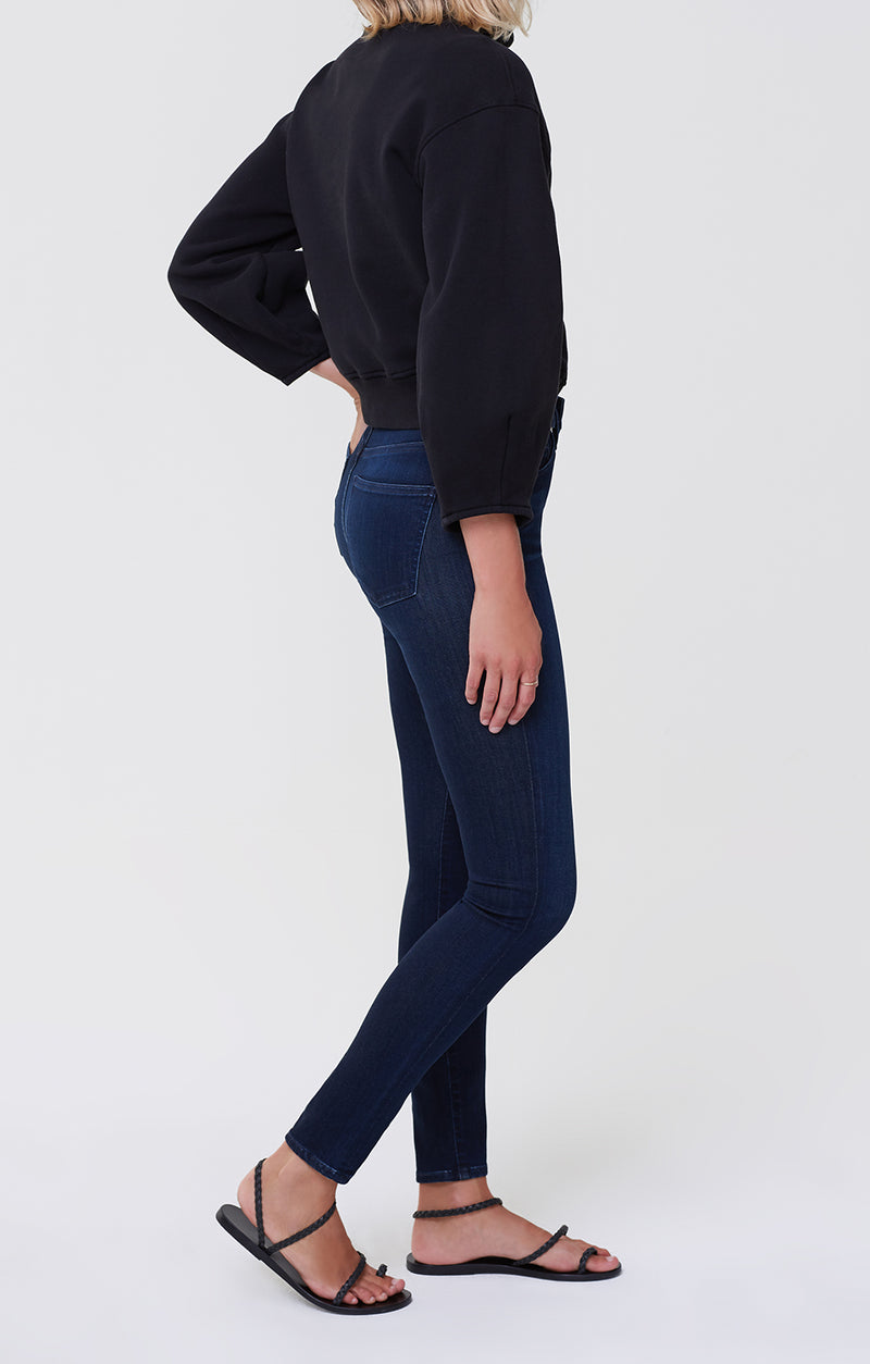 Rocket Mid Rise Skinny Fit Timeless side