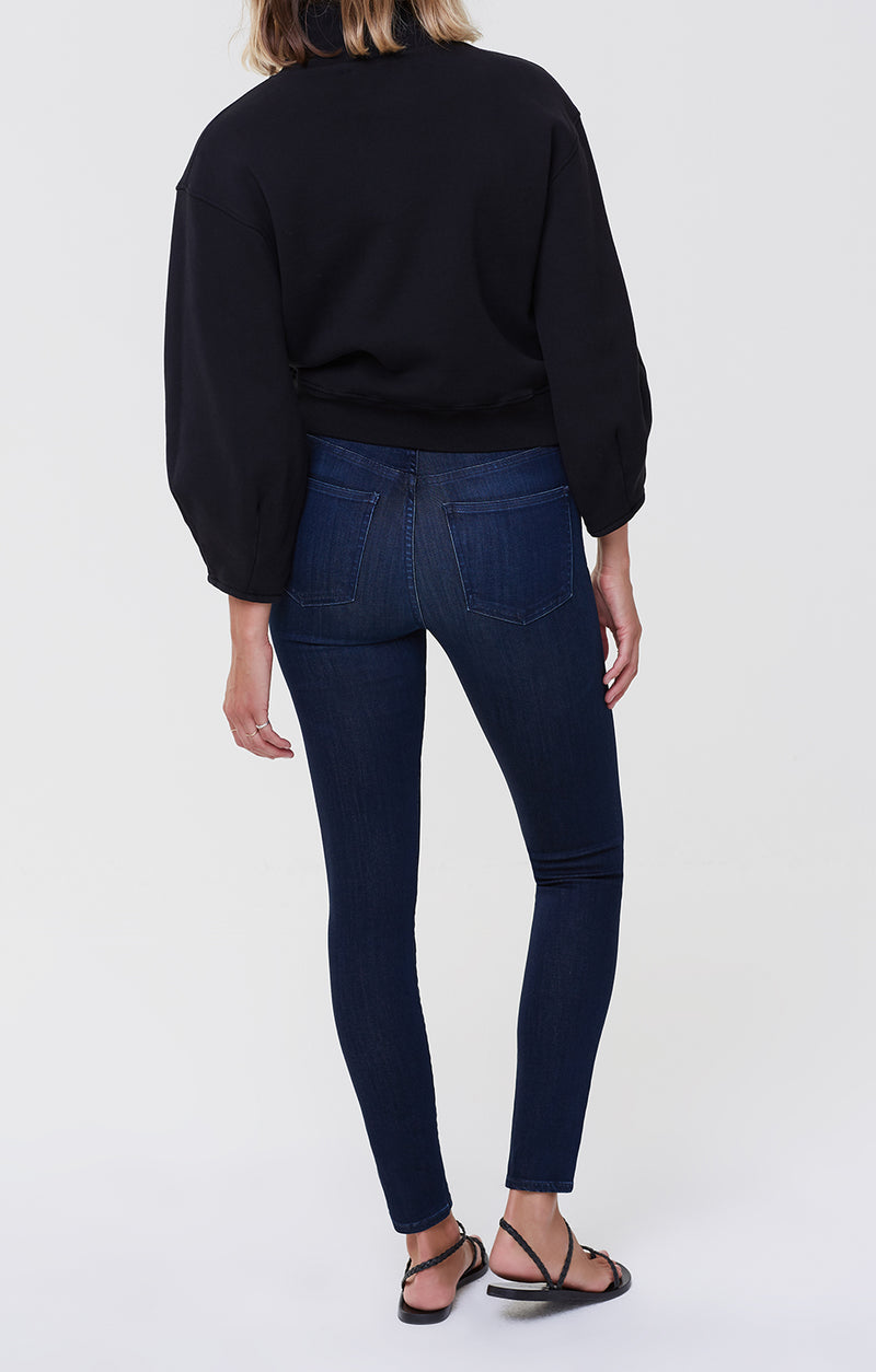 Rocket Mid Rise Skinny Fit Timeless back