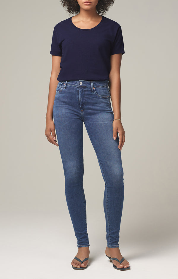 rocket mid rise skinny fit melody front