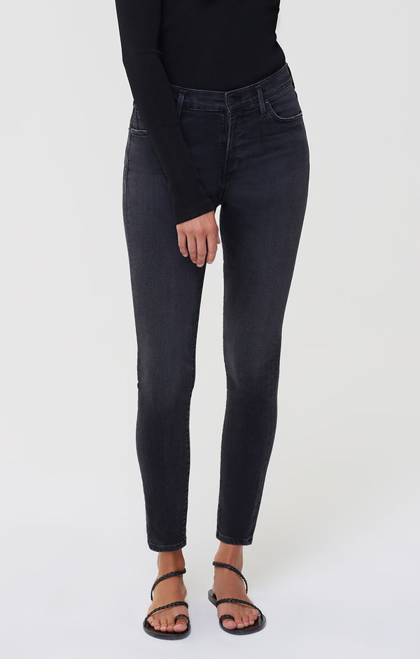 Rocket Mid Rise Skinny Fit Reflection front