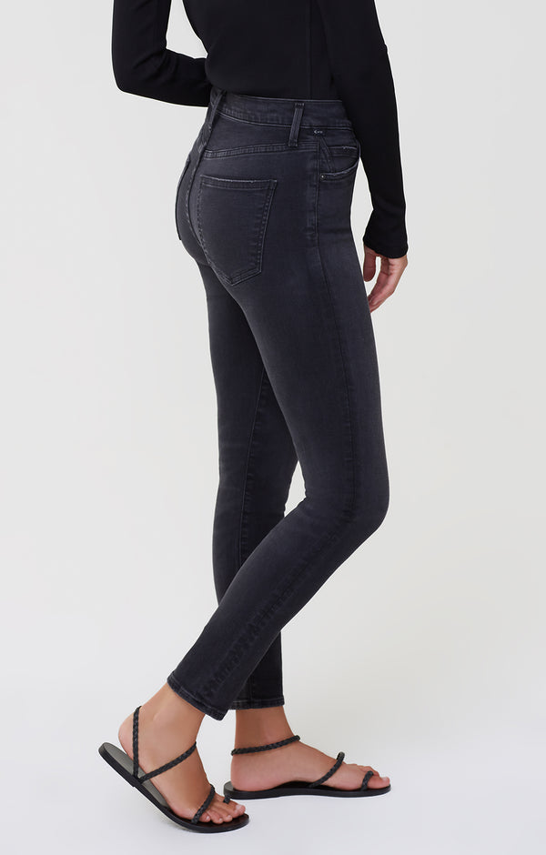Rocket Mid Rise Skinny Fit Reflection side