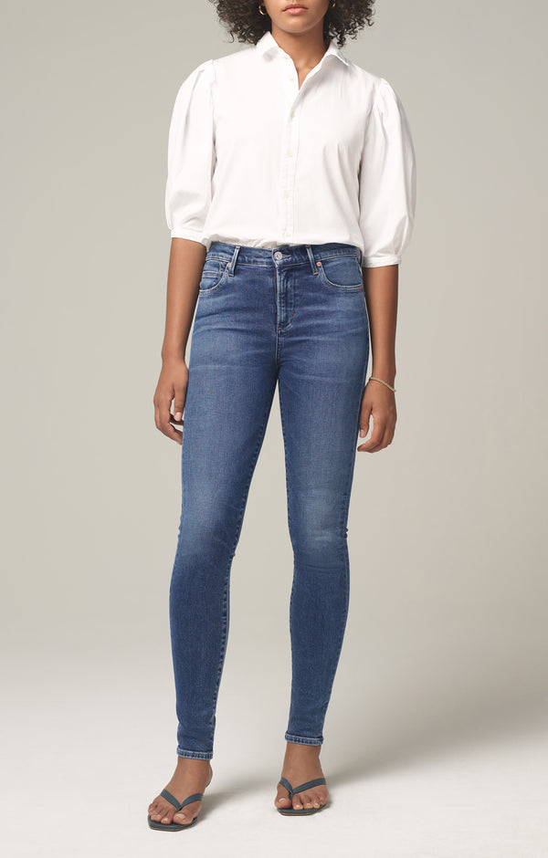 rocket mid rise skinny fit story front