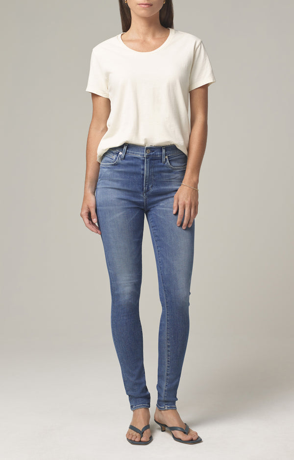 rocket mid rise skinny fit pirouette front
