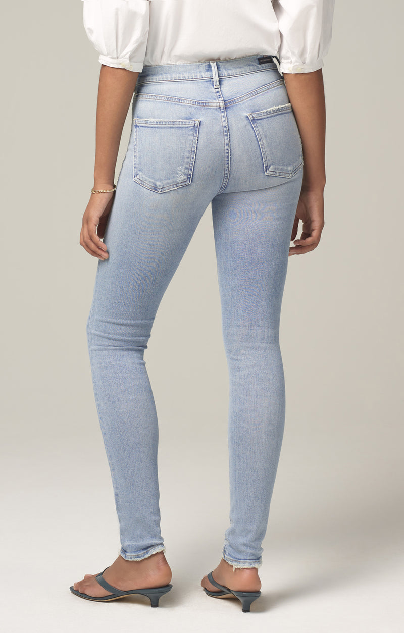 rocket mid rise skinny fit soft fade side