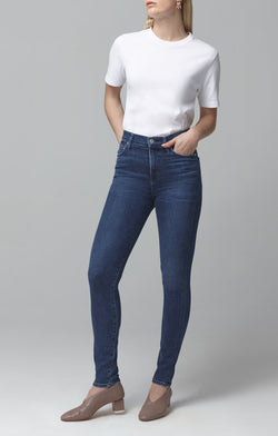 rocket mid rise skinny fit glory front